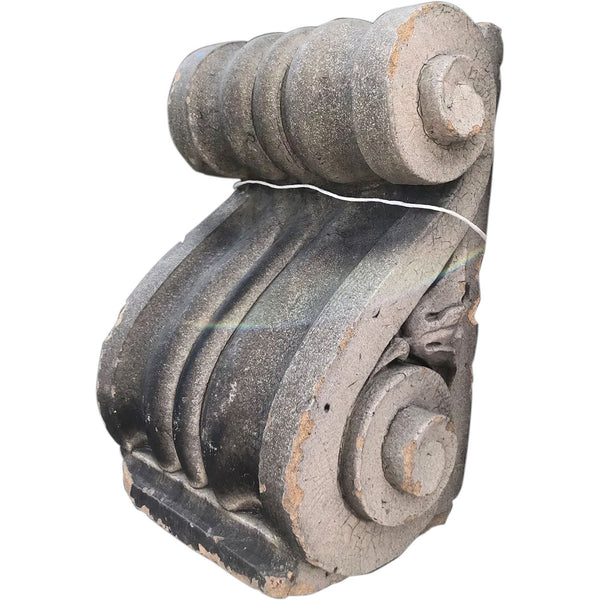 Terracotta Scrolled Architectural Corbel