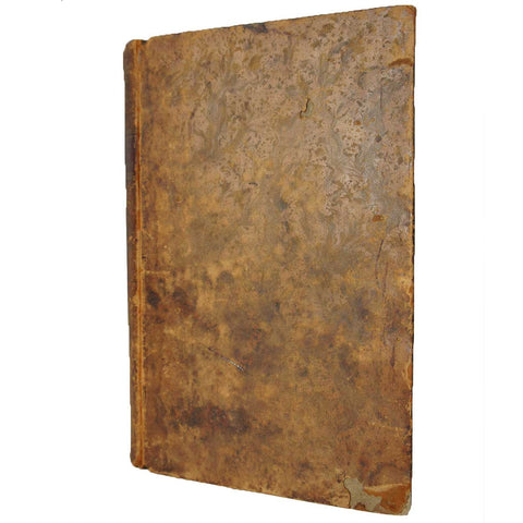 Leather Bound Book: An Essay on Moral Agency by Dr. Stephen West, 1794