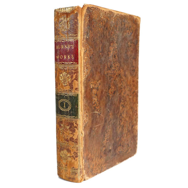 Leather Book: The Works of Robert Burns (Volume I of IV)