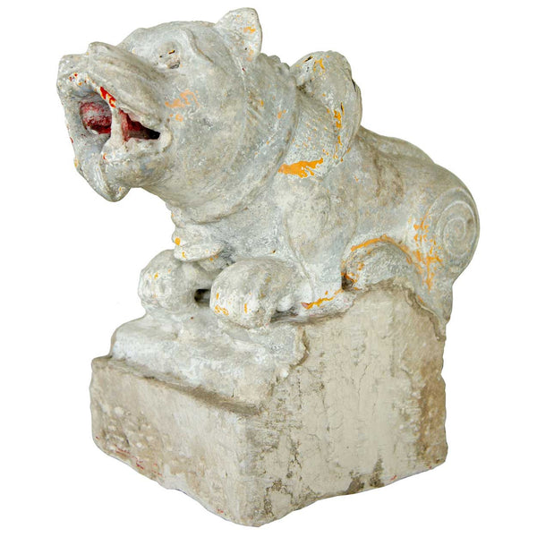Indian Stone Vyala Architectural Bracket