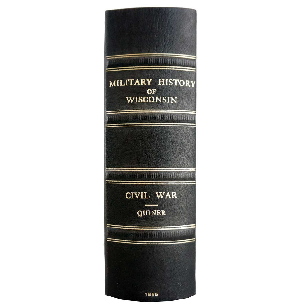 Antique Book: The Military History Of Wisconsin By Edwin