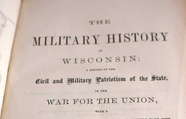 Book: The Military History of Wisconsin by Edwin Bentley Quiner