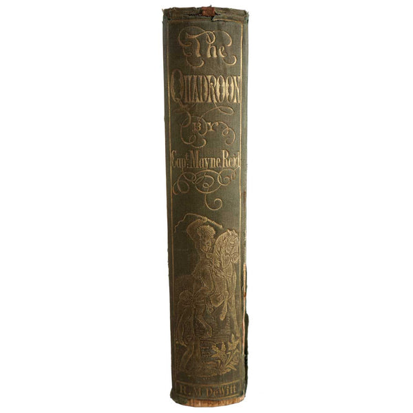 Book: The Quadroon; or A Lover's Adventures in Louisiana by Captain Thomas Mayne Reid