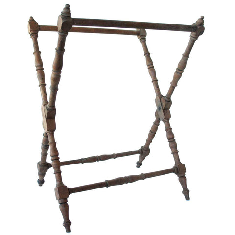 Antique Victorian Walnut Luggage Rack