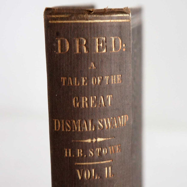 Book: Dred by Harriet Beecher Stowe, Vol. II