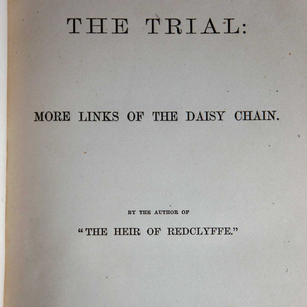 Book: The Trial by Charlotte M. Yonge