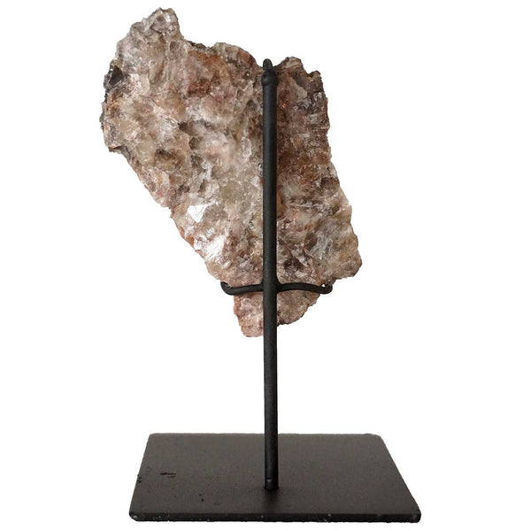 Small Crystal Rock with Custom Stand