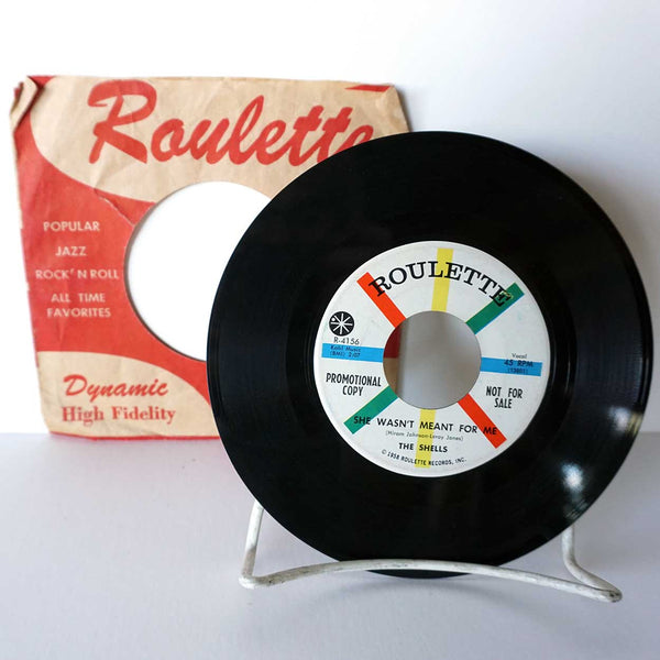 Collection of 5 Vintage Vinyl Records 45 RPM