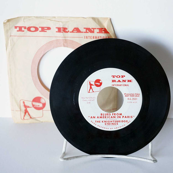 Collection of 6 Vintage Vinyl Music Records 45 RPM