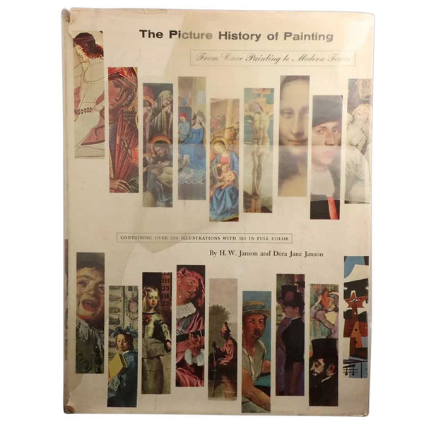 Vintage Art History Book: The Picture History of Painting by H.W. Janson and Dora Jane Janson
