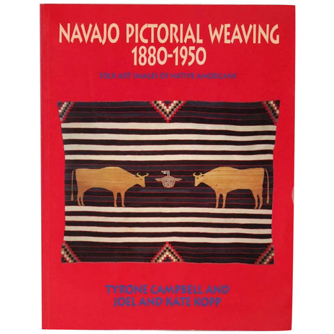Book: Navajo Pictorial Weaving 1880-1950 by Tyrone Campbell et al.