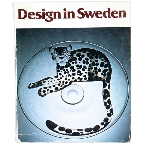 Vintage First Edition Book: Design in Sweden by Lennart Lindkvist
