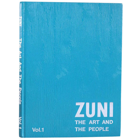 Set Vintage Books: Zuni, The Art and the People, Volume I-III by Ed & Barbara Bell