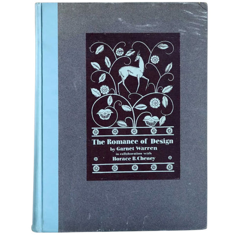 First Edition Vintage Book: The Romance of Design by Garnet Warren