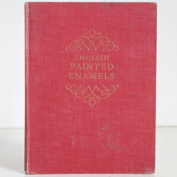 Vintage Book: English Painted Enamels by Therle and G. Bernard Hughes