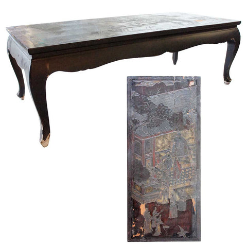 Chinese Lacquer Cocktail Table