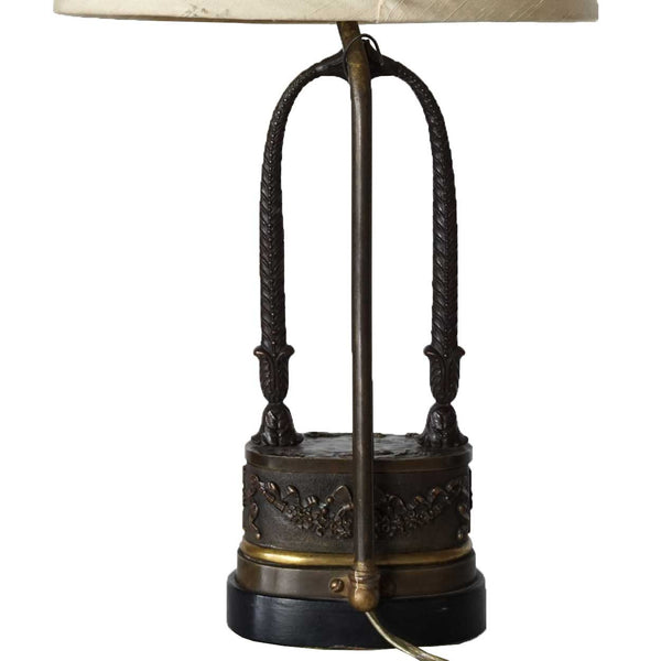 Neoclassical Bronze Table Lamp