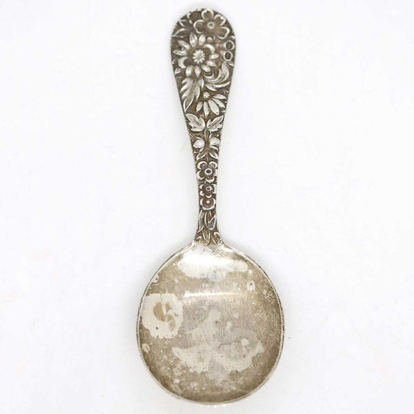 American S. Kirk & Son Sterling Silver Repousse Baby Spoon