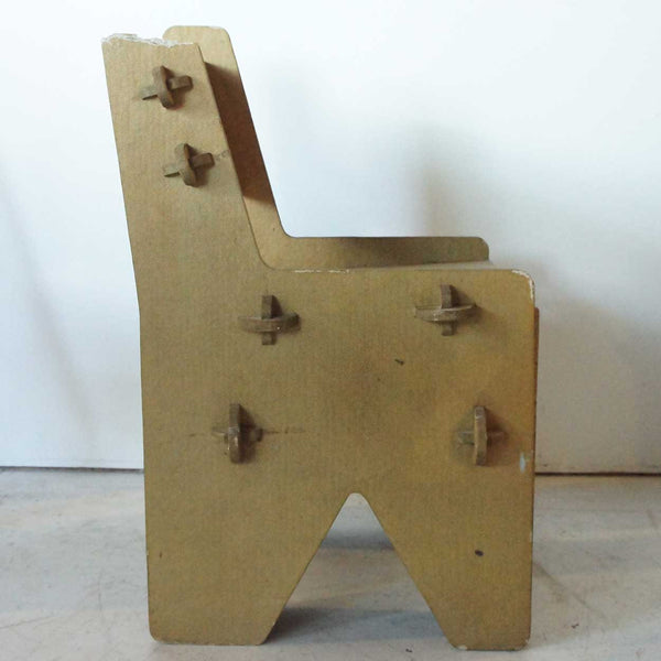 Vintage Paperboard Side Chair