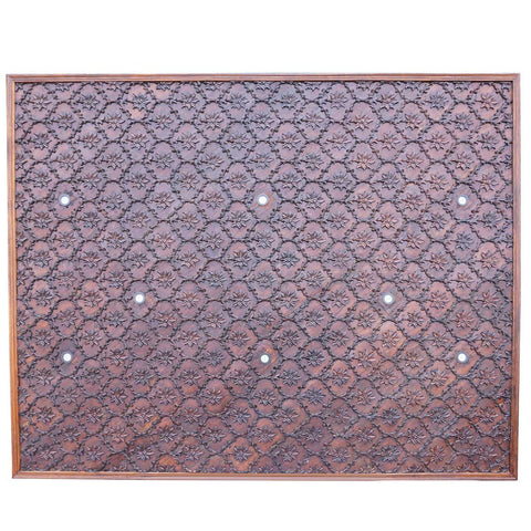 Fine Indian Haveli Teak Architectural Ceiling Panel