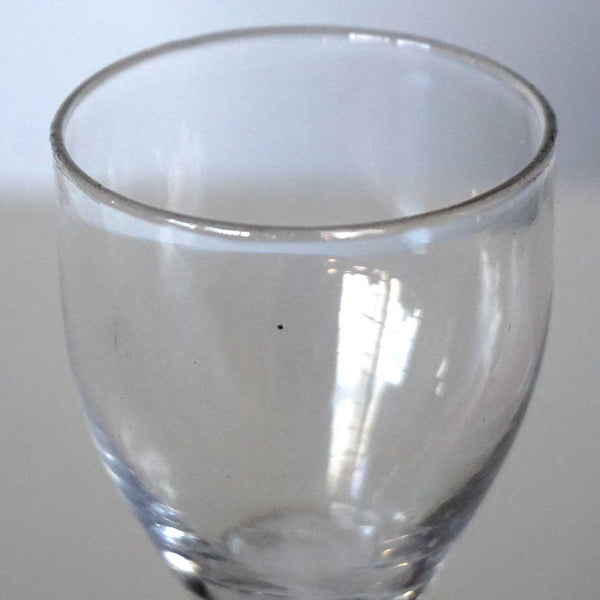 Early Double-Series Cotton Twist Stem Wine Glass