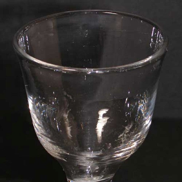 Early Double-Series Opaque Twist Stem Wine/Cordial Glass