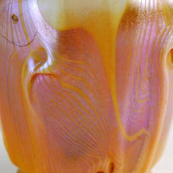 Rare American Tiffany Studios Art Glass Vase