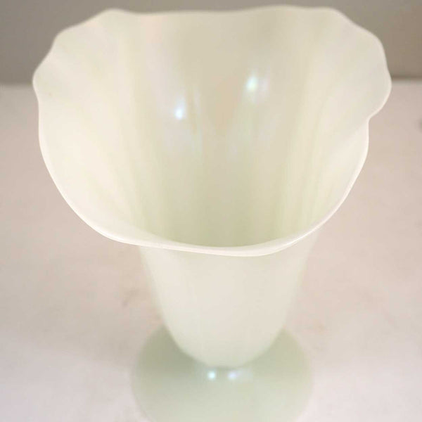 Large American Steuben Carder Period Calcite Art Glass Vase