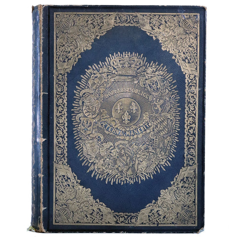 First Edition French Book: Vraie Science des Armoiries by Marquis Claude Drigon de Magny