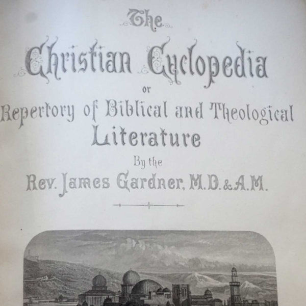 Book: The Christian Cyclopedia by Rev. James Gardner
