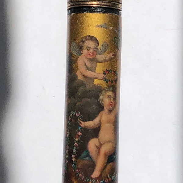 French Louis XVI Vernis Martin Billet-Doux (Love Note) Case