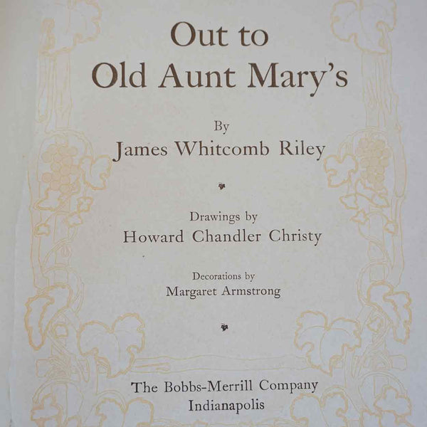 Collection of Five American JAMES WHITCOMB RILEY Poetry Books