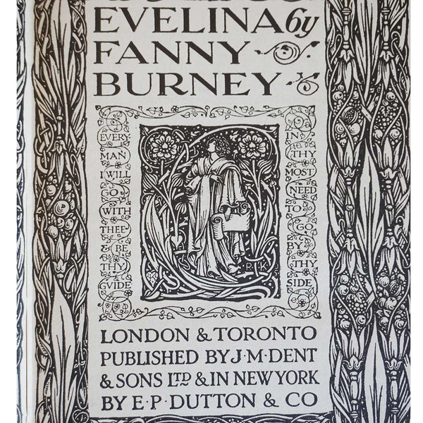 Book: Evelina by Fanny Burney