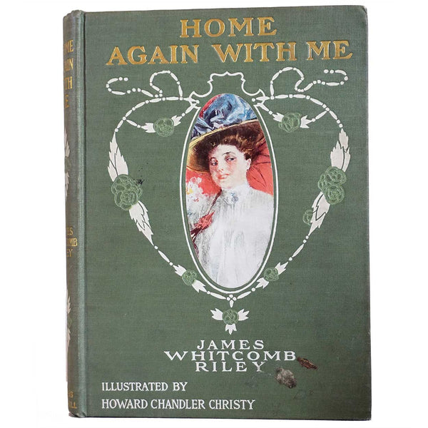 Book: Home Again With Me by James Whitcomb Riley