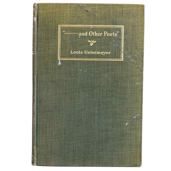 Book: ---and Other Poets by Louis Untermeyer