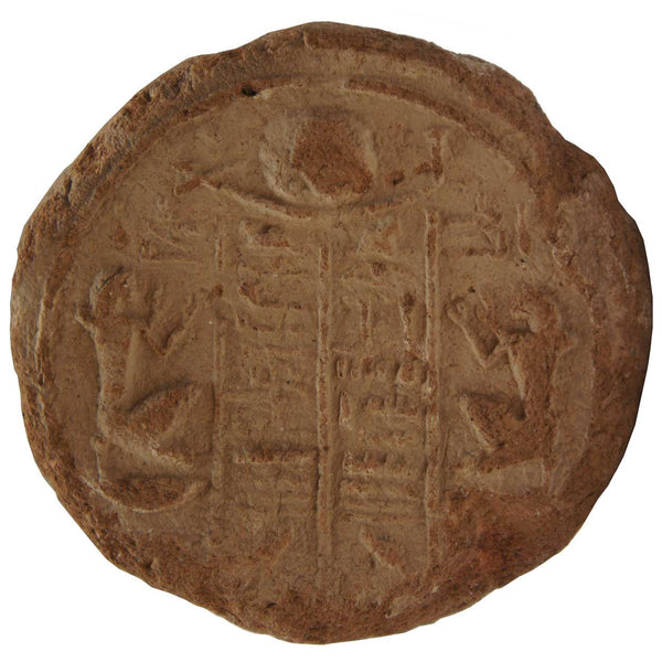 Ancient Egyptian Terracotta Hierogyphic Funerary Cone Stamp