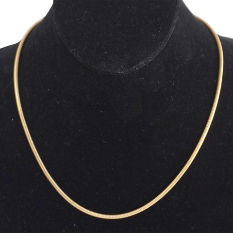 Vintage American Monet Gold Plated Necklace