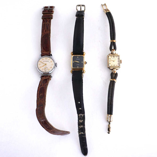 Three Vintage Lady's Wristwatches