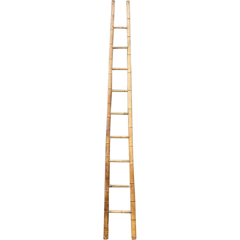 Tall French Bamboo Orchard Ladder