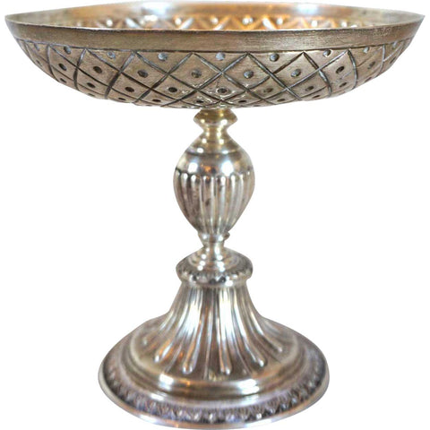 Small English Export George V Crichton Brothers Sterling Silver Footed Bowl