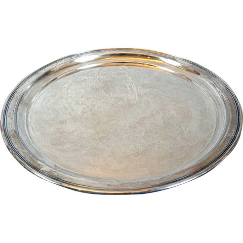 American Wallace Sterling Silver Round Tray