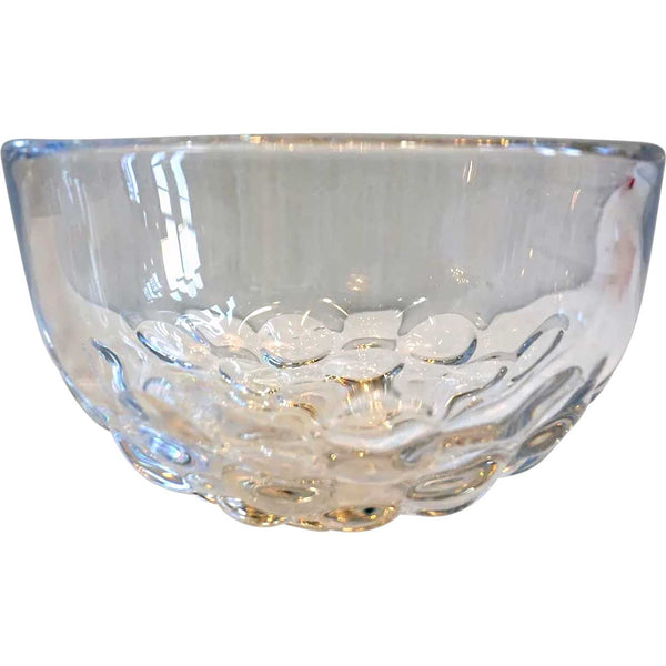Vintage Swedish Sven Palmquist for Orrefors Mid-Century Modern Clear Glass Bowl