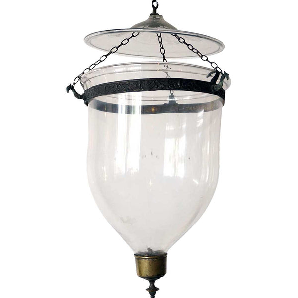 English Regency Style Glass Hall Lantern