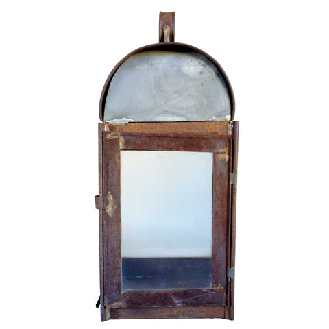 Anglo Indian Toleware Wall Lantern