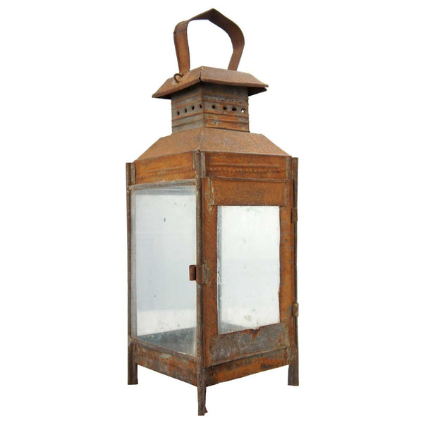 Anglo Indian Toleware Portable Lantern