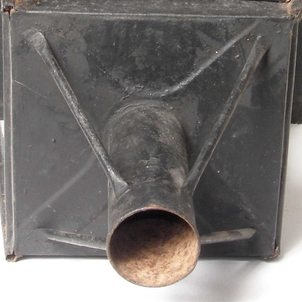 Large English Toleware Post Lantern