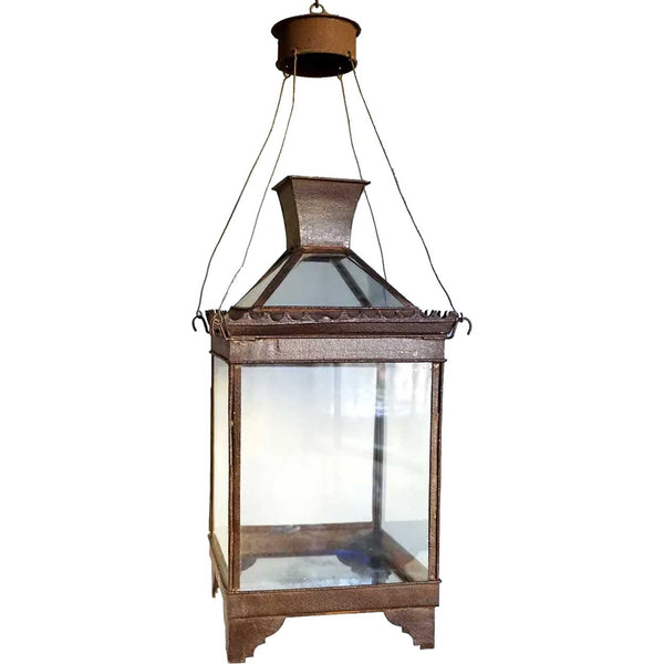 Anglo Indian Toleware Hanging Lantern