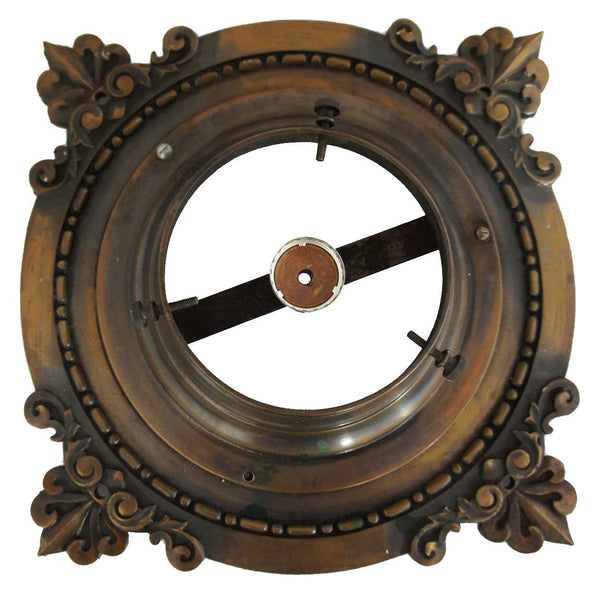 American Victorian Heavy Bronze Ceiling Lighting Fixture