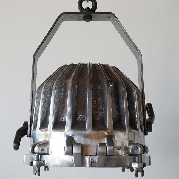 Vintage Style Aluminum Ship's Cargo Deck Pendant Light (28 available)