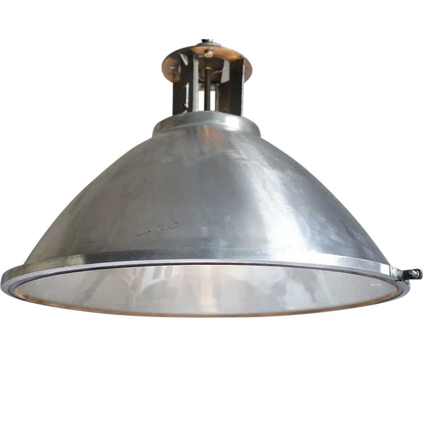 Vintage Industrial Aluminum Shade Pendant Light